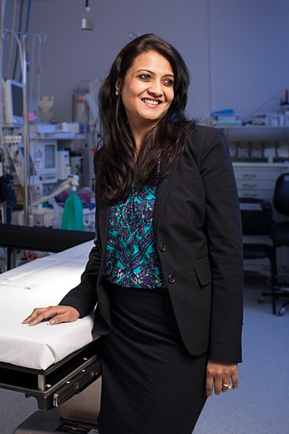 Raji Kumar, CEO of Dallas Medical Center. (Photo by: Ben Garrett)