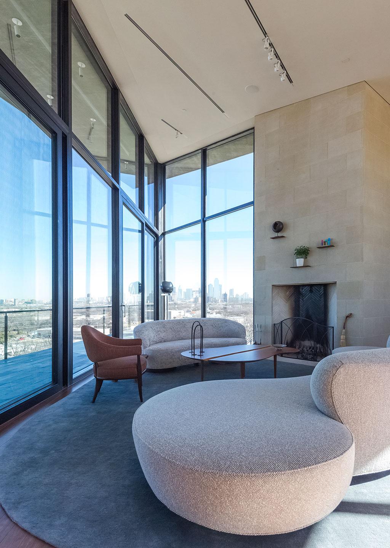 . Glimpse the Dallas Architecture Forum s  Modern Living  Reception