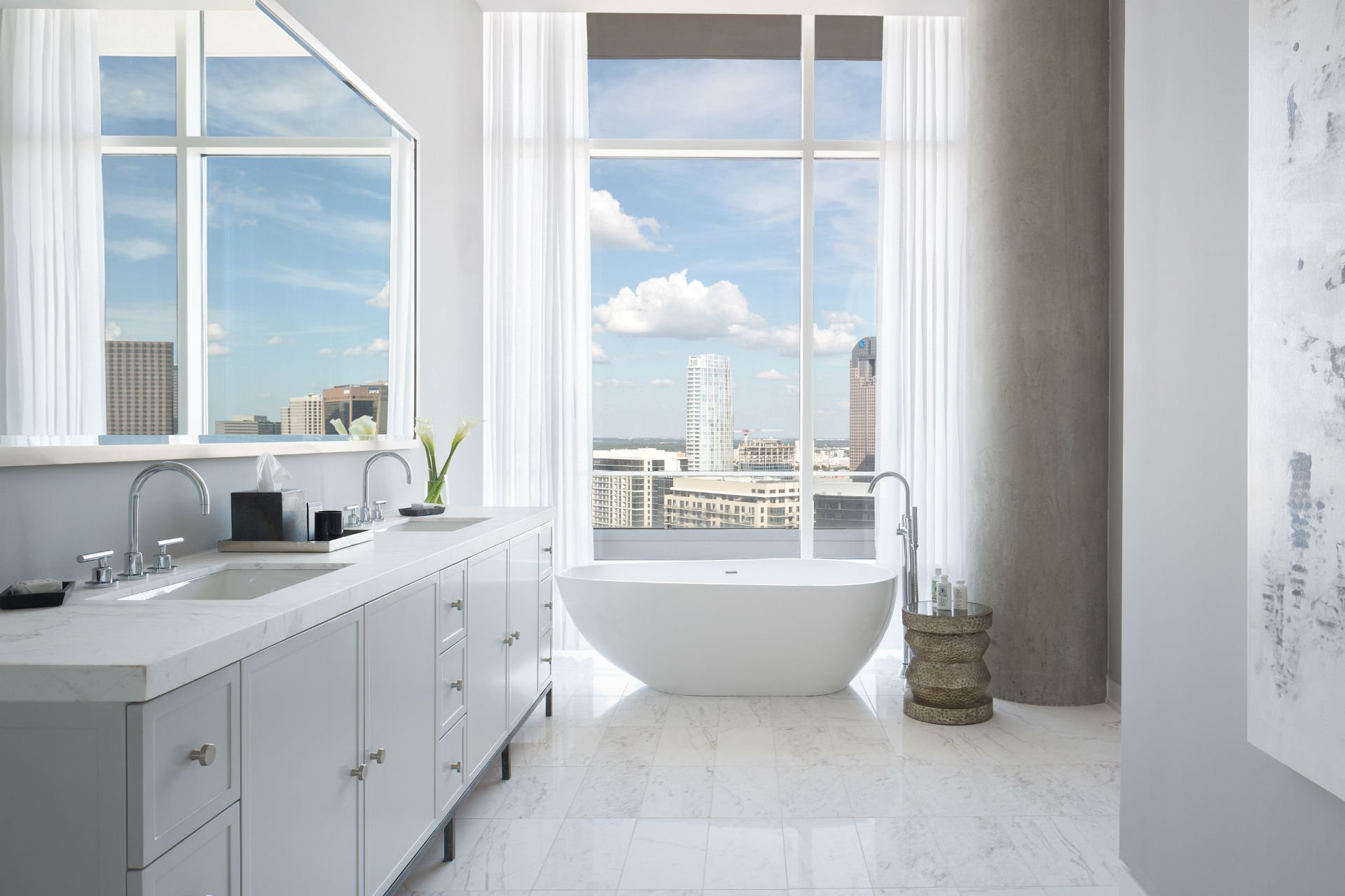 The Ultimate Guide To Grey Bathrooms: A Style Guide To Freestanding Tubs