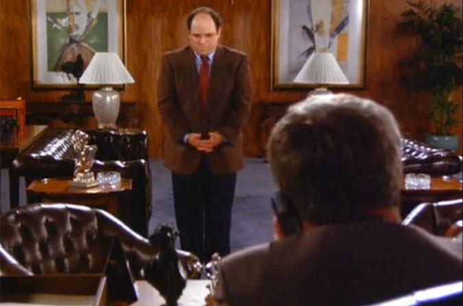 George Steinbrenner dressing down George
