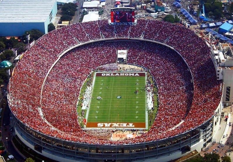 Image result for Texas Ou Cotton Bowl