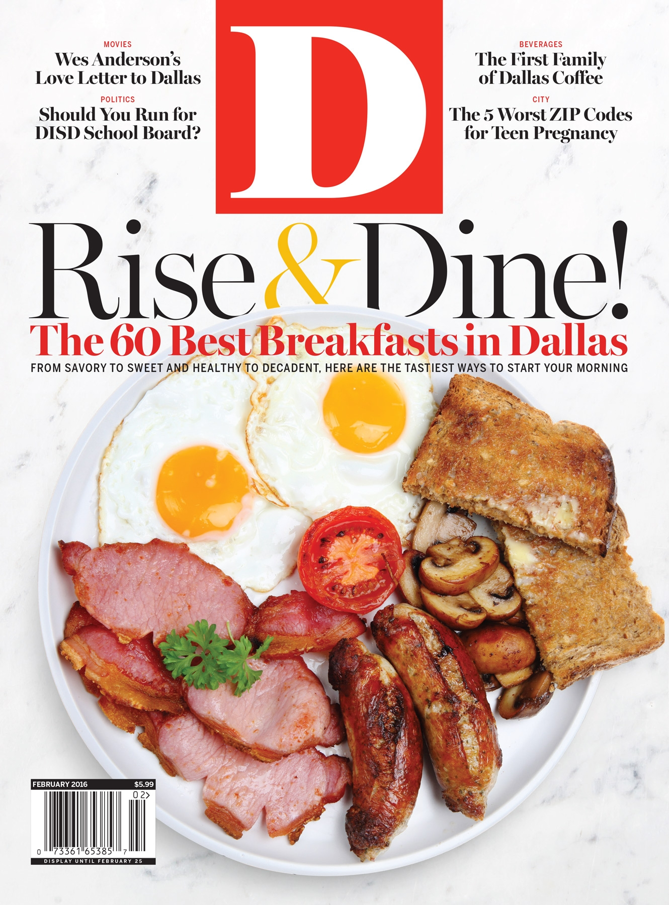 Eat Our Cover Five Dallas Restaurants Now Serve Stock Art Breakfast