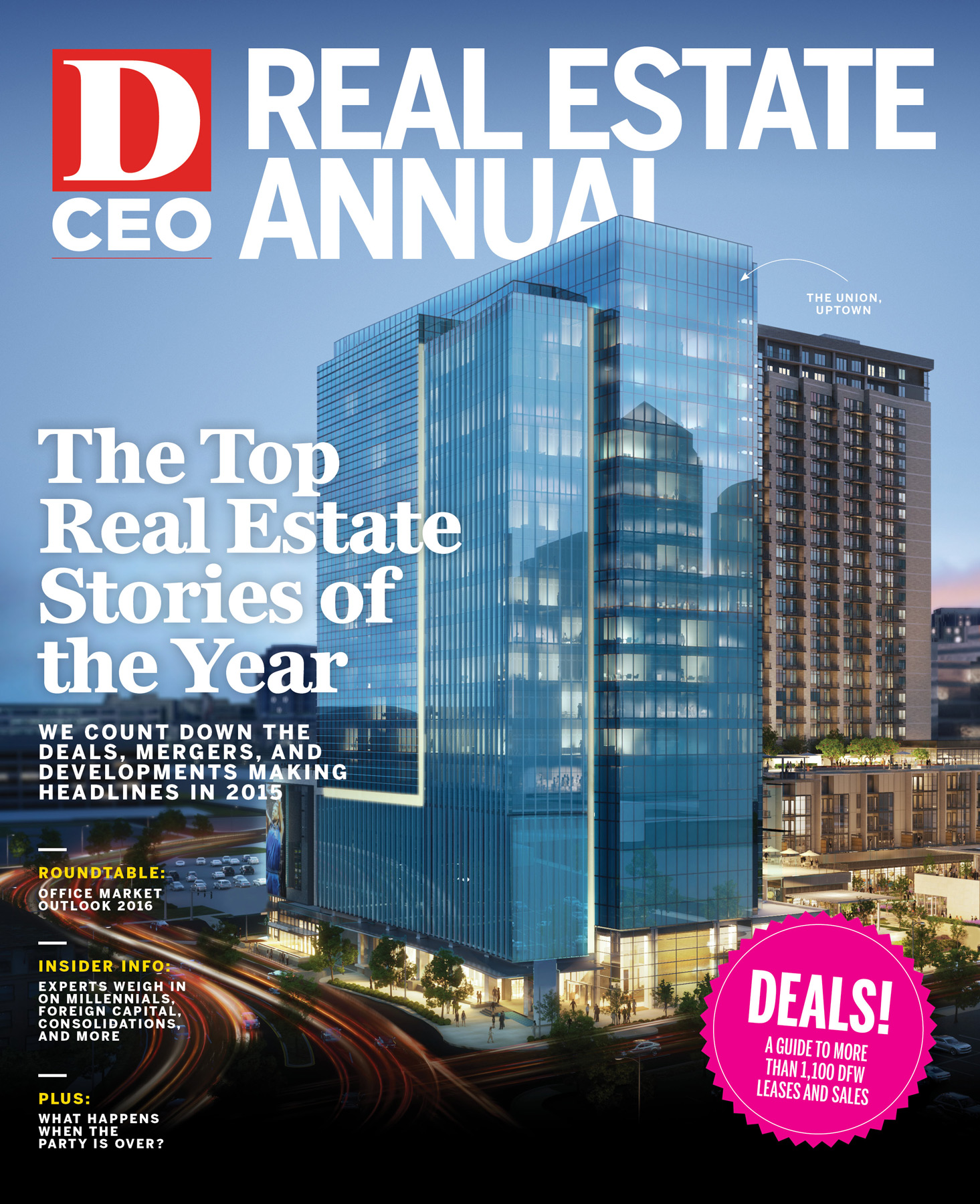 Real Estate Annual 2016 cover