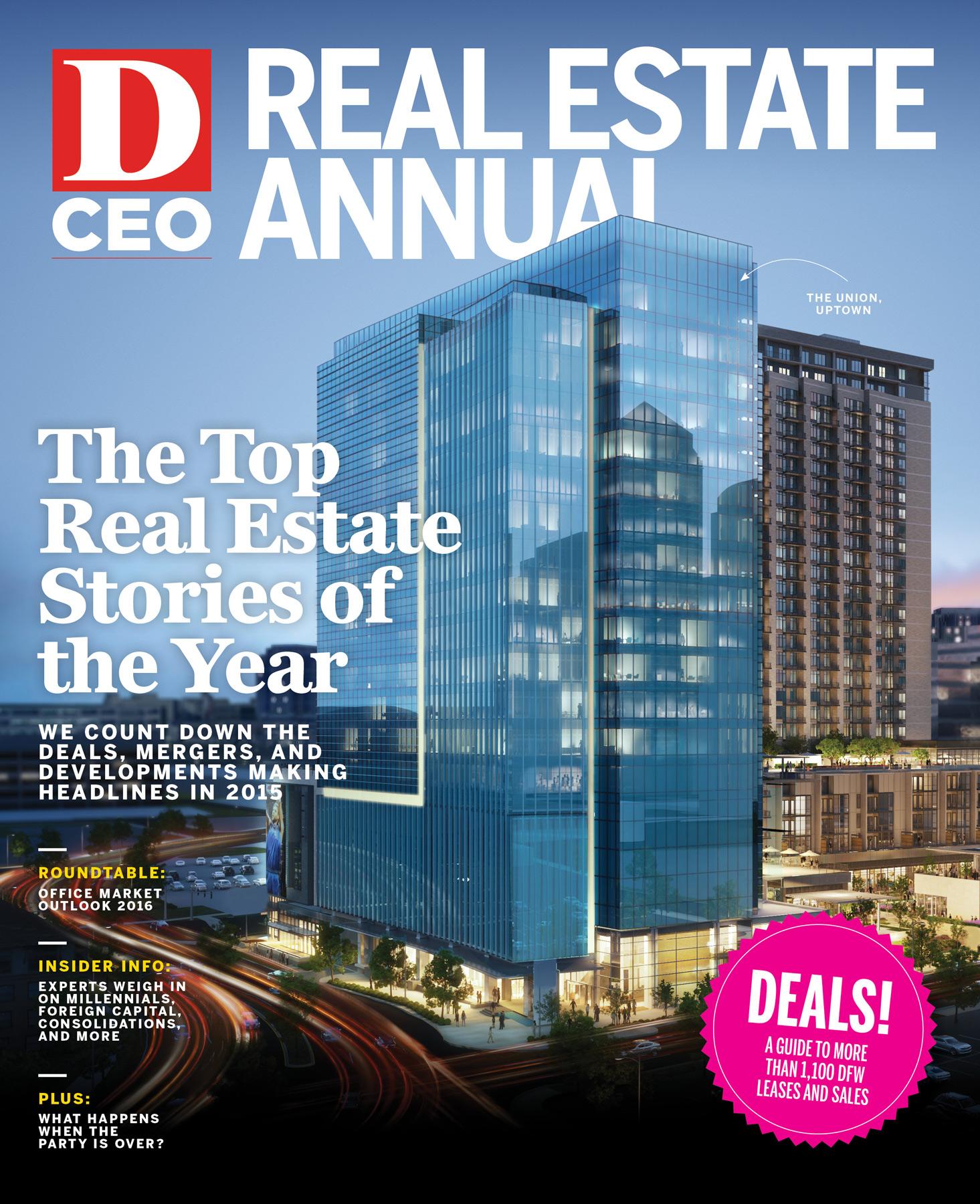 Real Estate Annual 2016 cover