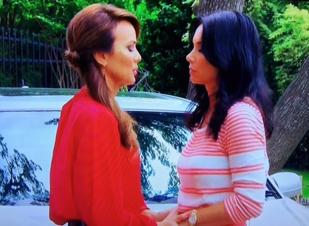 Tiffany and LeeAnne pray to God for a second season.