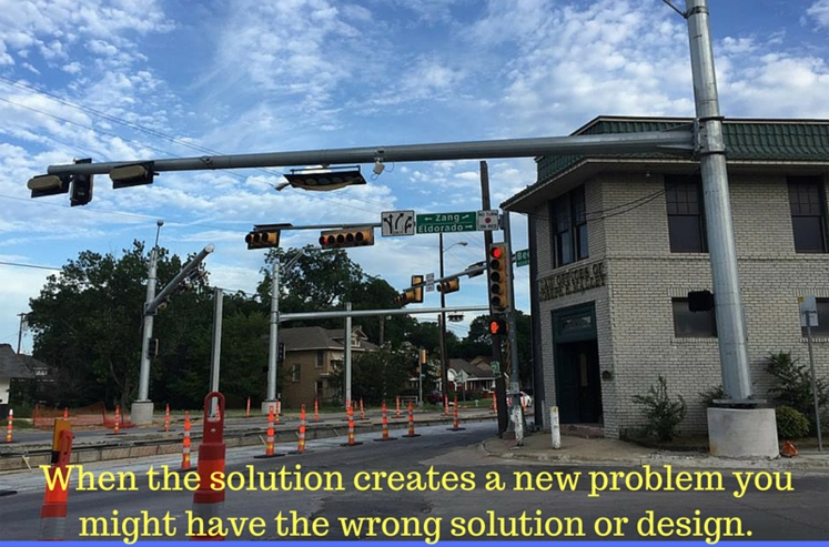 Fred Pena's as confused as you are by Dallas' world class urban design.