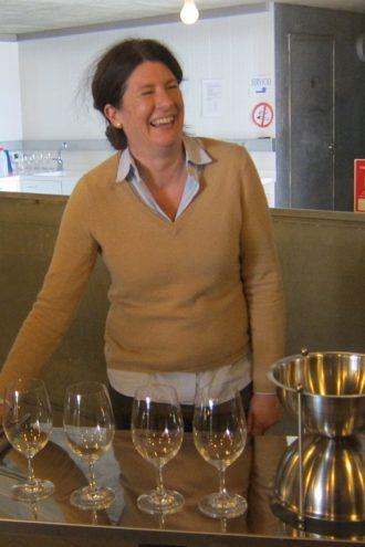 Belondrade enologist Marta Baquerizo Mesonero-Romanos