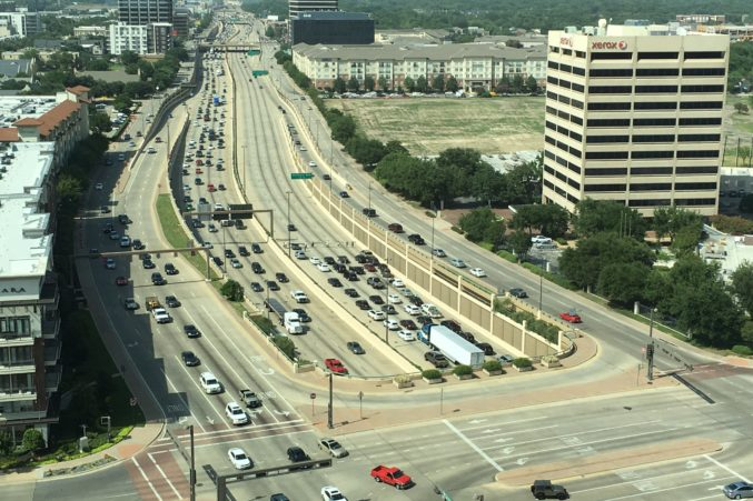 Protesters Stop Traffic on Central Expressway - D Magazine