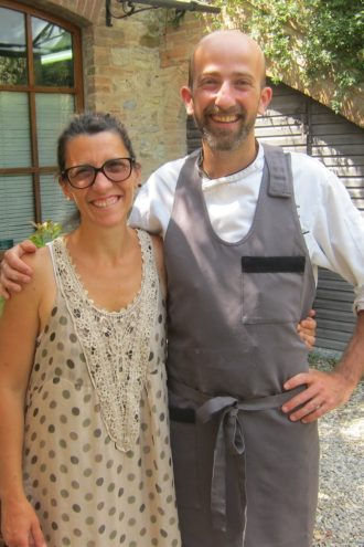 Elisa Bianchini (left) & Chef Senio Venturi of L'Assencio Ristorante