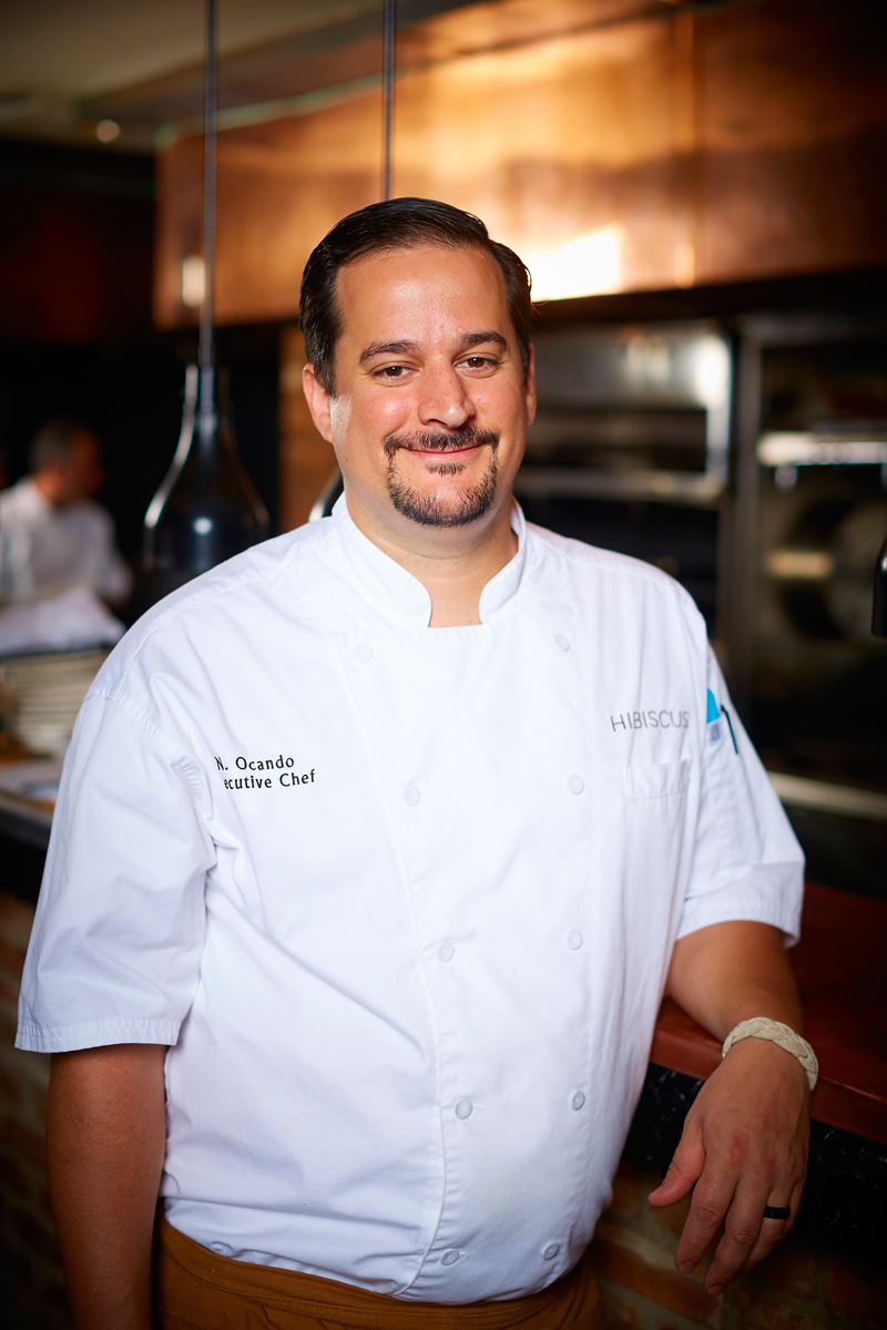 Hibiscus' kitchen now belongs to former chef de cuisine Nicholas Ocando.