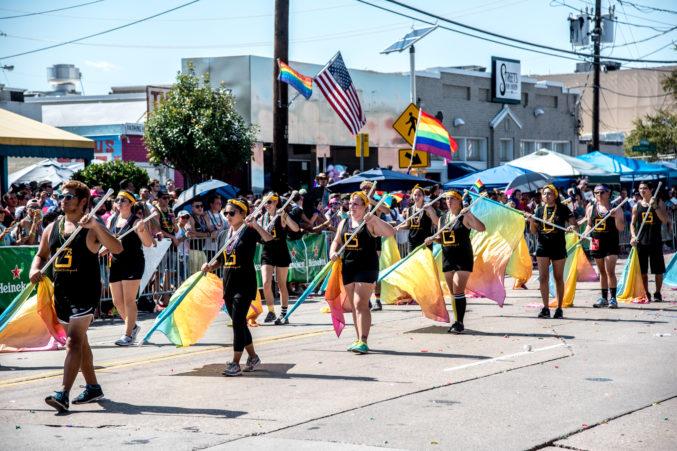 Dallas gay pride video