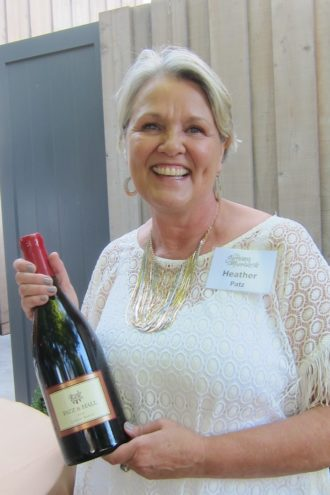 Lovely Heather Patz of Patz & Hall Winery
