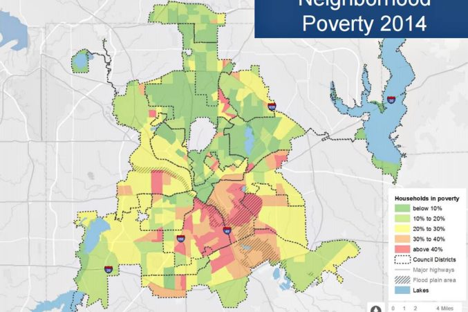 When It Comes to Poverty, Dallas Is World Cl - D Magazine Dallas City Council District Map on