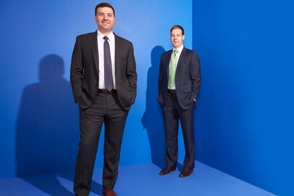 Tony Ruggeri and Jake Wagner