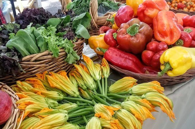 Sonoma County produce.