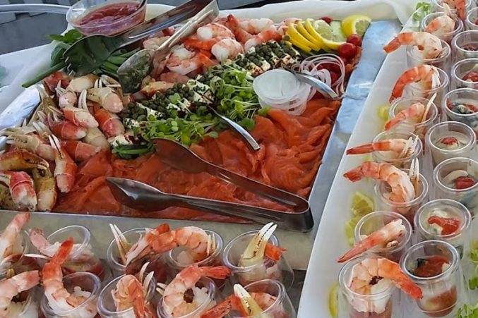Some of Seattle's best best shellfish and smoked salmon to pair with Riesling.