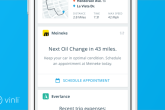 Meineke will now be able to send customers maintenance reminders via Vinli.
