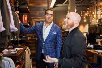 Matt Alexander joins Raja Ratan as the two grow Q Fifty One, a Dallas menswear retailer.