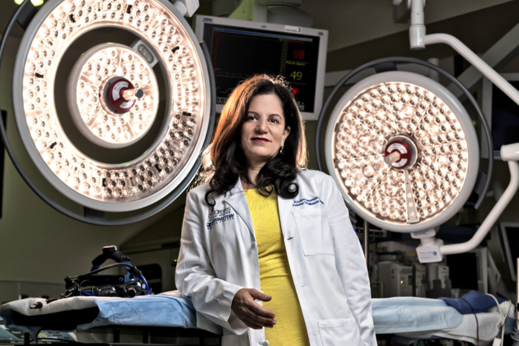 Dr. Kris Guleserian, one of the best pediatric heart surgeons in the country, pictured here at Children's Medical Center of Dallas. (Photo by Jeremiah Stanley)