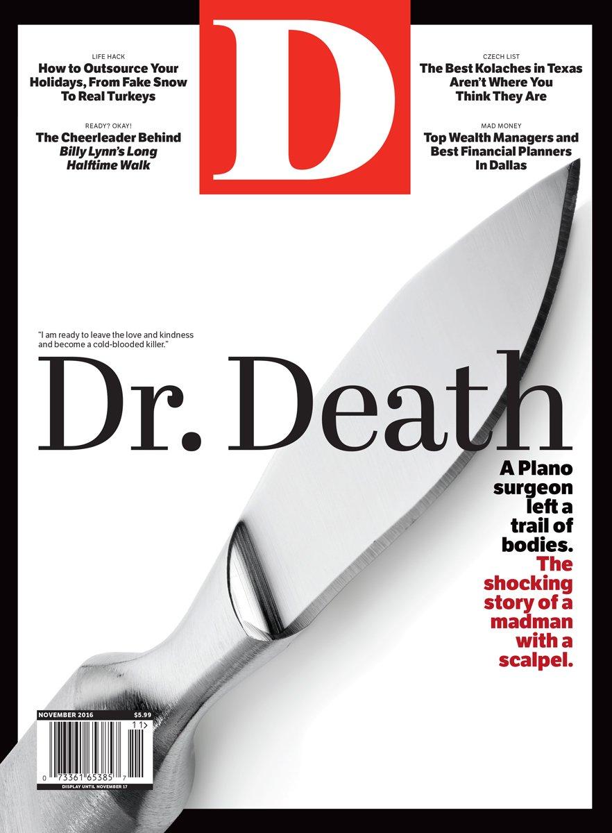 November 2016 cover