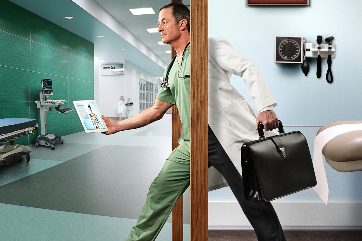 busy doctor s office - HD1200×800