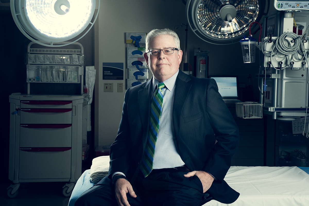 Barclay Berdan is the CEO of Texas Health Resources, the largest health system in North Texas.