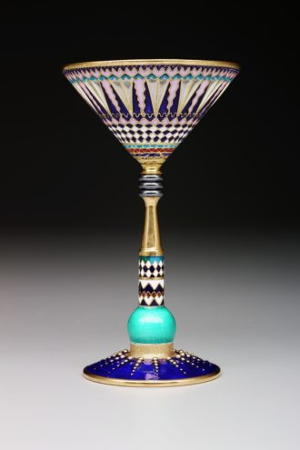 Martini glass (photo courtesy of DMA).