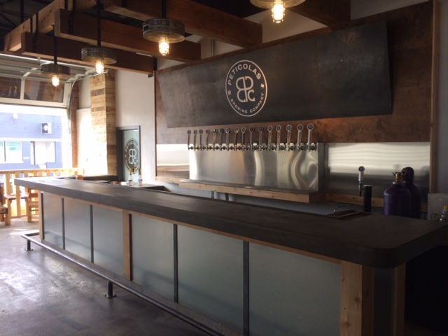 The taproom. Photo provided by Peticolas.