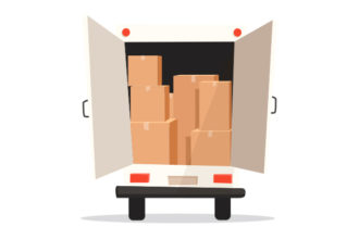 Moving truck illustration: Mooid Art/shutterstock.com