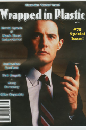 "The final installment, billed as a ""giant-size 'hiatus' issue,"" featured interviews with Lynch and Frost. The cover was a still of Kyle MacLachlan's Agent Dale Cooper, a fitting end since Cooper was the last character to appear on-screen."