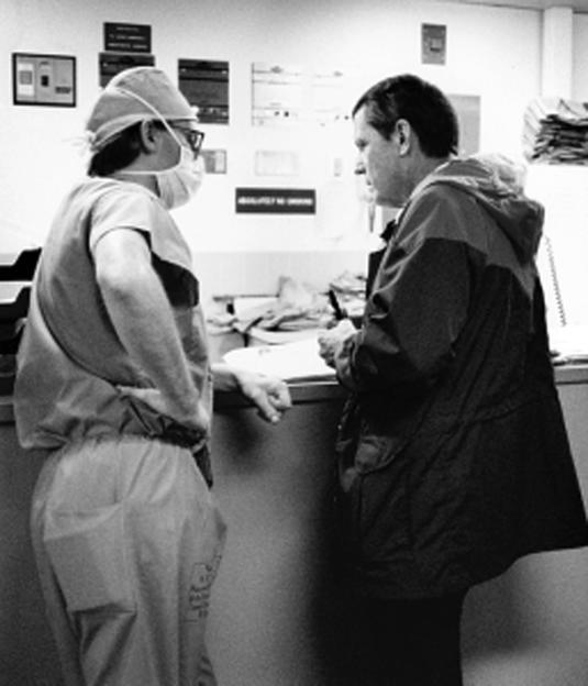 Dr. Starzl and Dr. Klintmalm working together. (Courtesy of: Baylor Health)