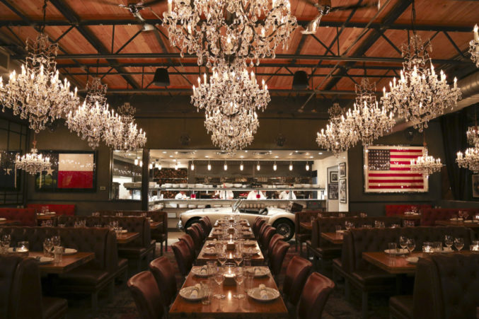 Can Am Roadster >> Behind the Opulent Design of Town Hearth Restaurant - D ...
