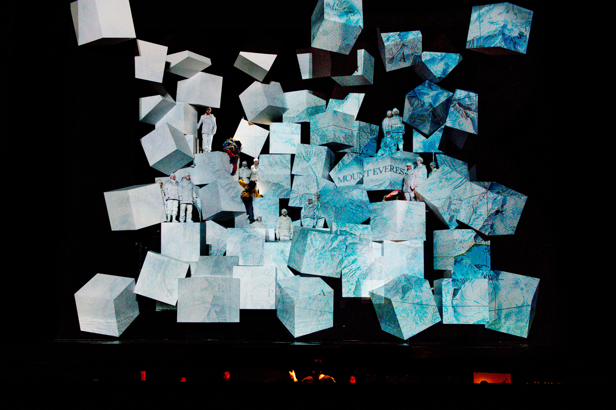 """The opera's world premiere of """"Everest."""""""