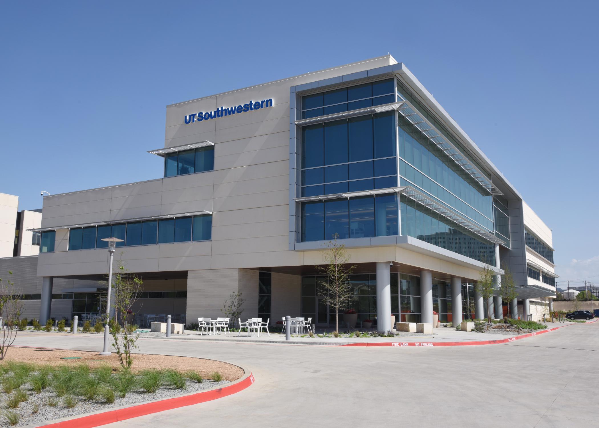 The newly opened radiation oncology center (Courtesy of: UT Southwestern)