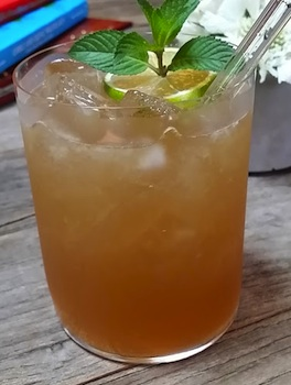bourbon peach julep