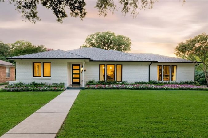 Hot Property Remodeled Mid Century Ranch In Midway Hollow
