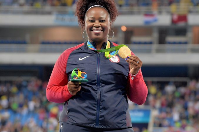 Michelle Carter Athlete >> For Olympian Michelle Carter The Best Job In The World Is