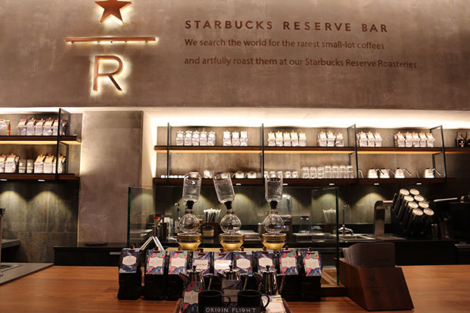 With Uptown S Reserve Bar Starbucks Takes On Craft Coffee