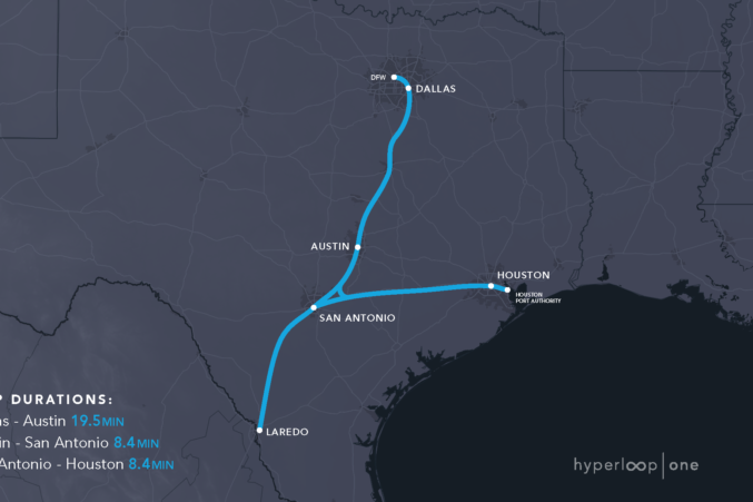 Dallas Among 10 Potential Hyperloop Routes - D Magazine on