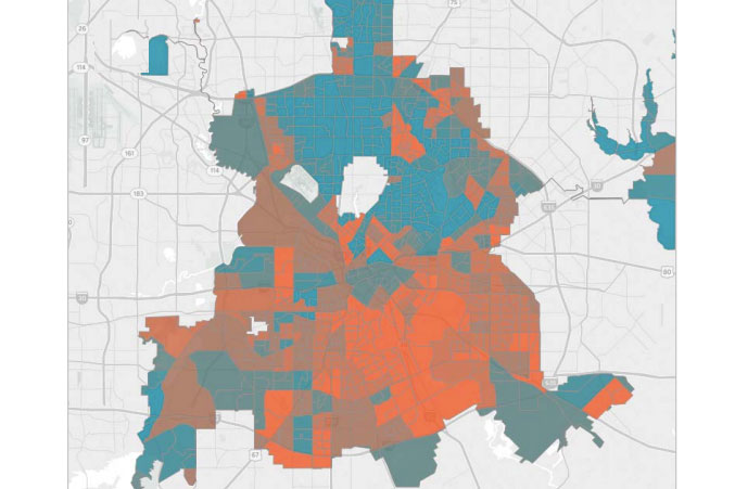 Dallas\' Poverty Problem Is a Segregation Problem - D Magazine
