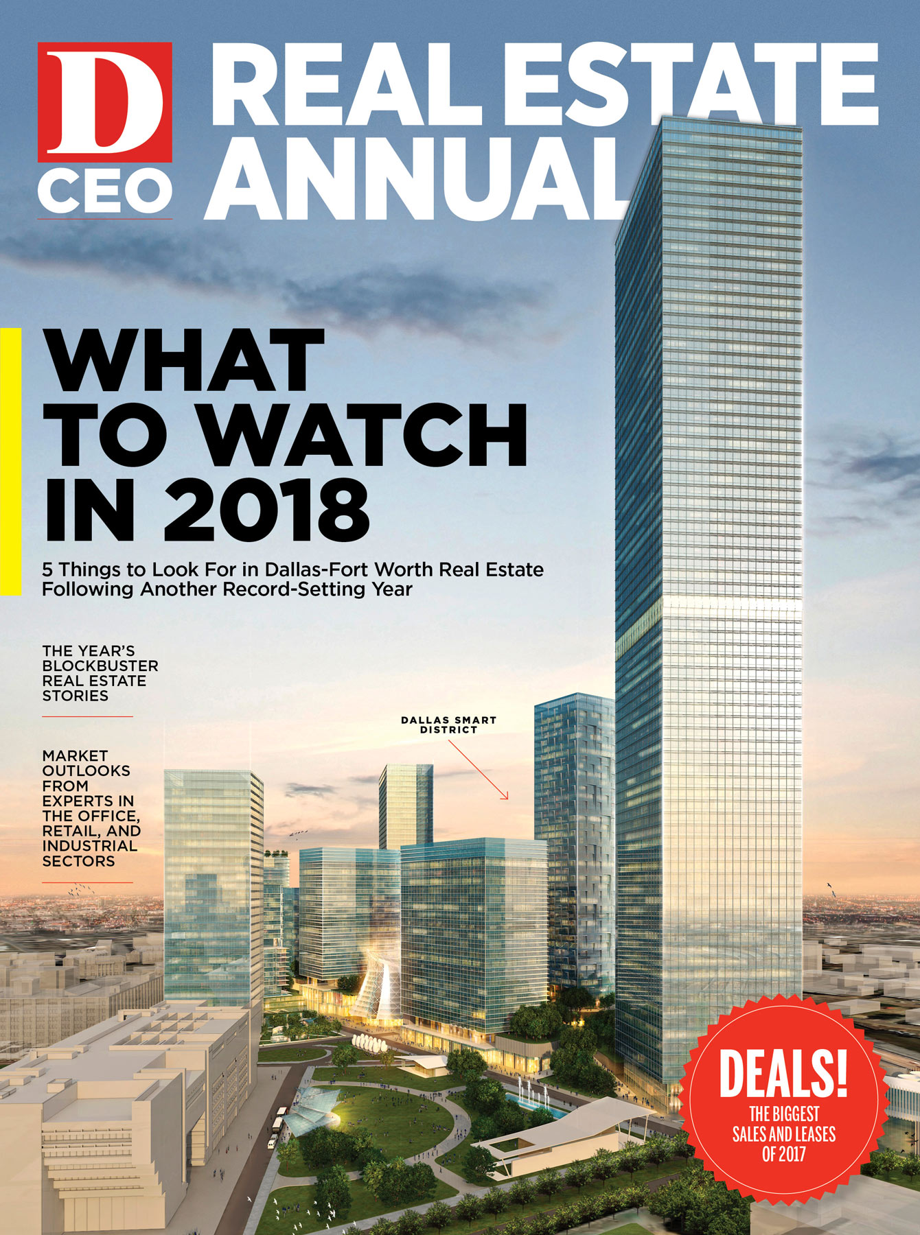 Real Estate Annual 2018 cover