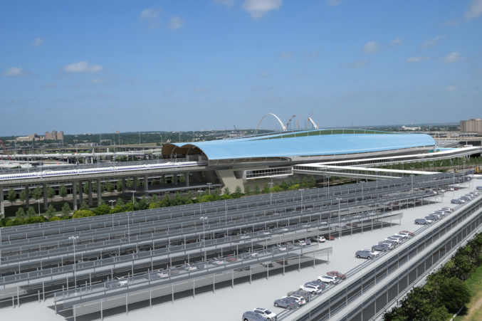 Texas Bullet Train Developers Share Plans for Dallas Station