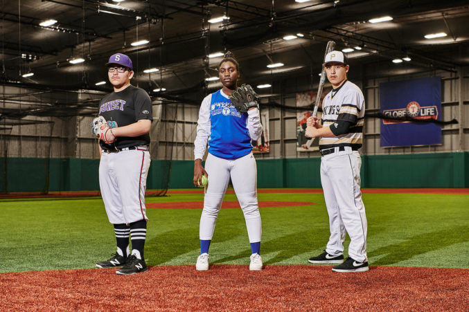 check out c2a20 9c7e3 Texas Rangers Bring Major League Baseball to West Dallas Youth