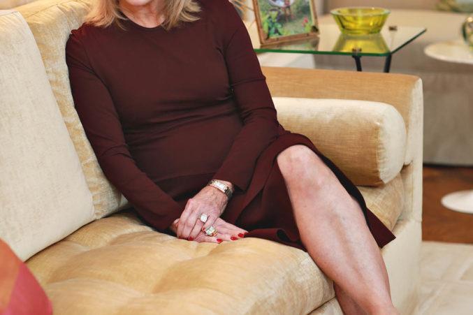 Ordinaire Furniture Designer And TCU Alum Jan Showers Poses At Her Dallas Home.  Carolyn Cruz Photography