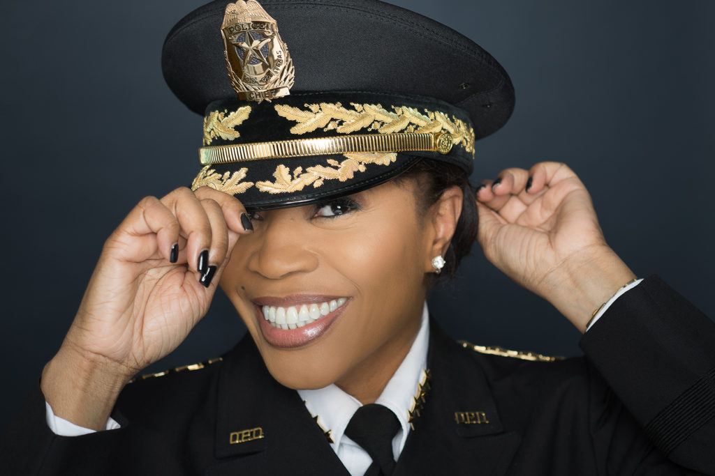 Portrait of Dallas Police Chief Renee Hall