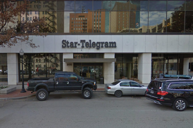 McClatchy Guts Star-Telegram, Considers Fort Worth To Be