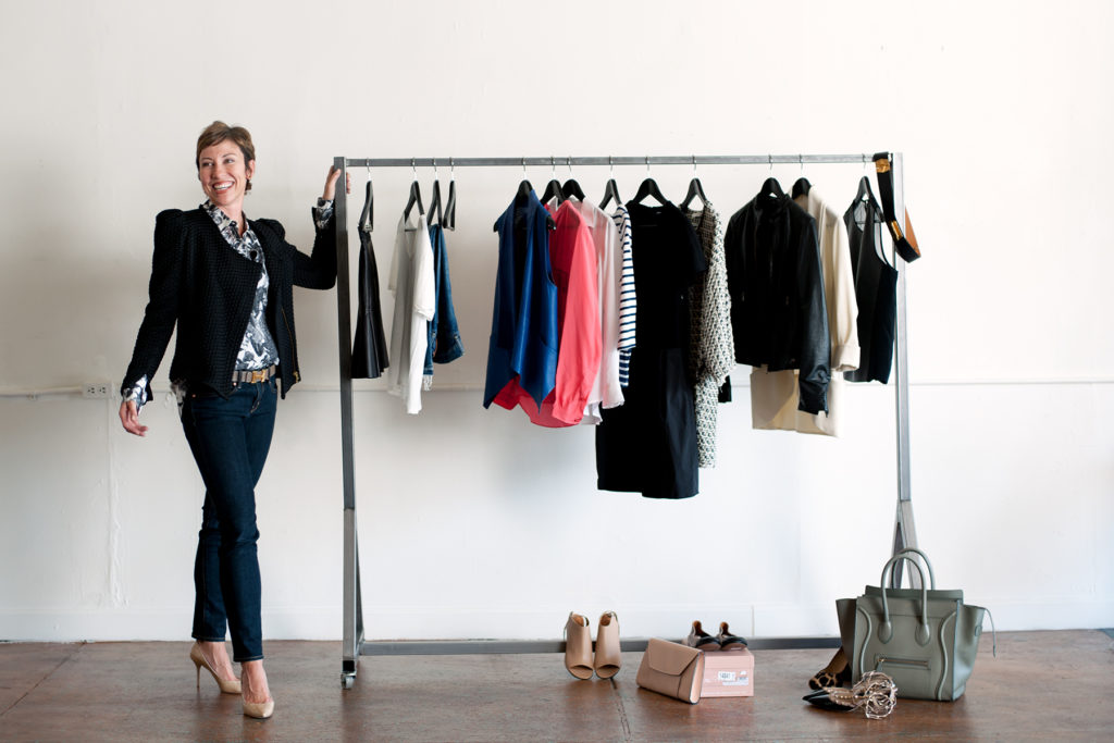 9e2a8ff4974 Fashion. How to Streamline Your Wardrobe. A closet full of clothes ...