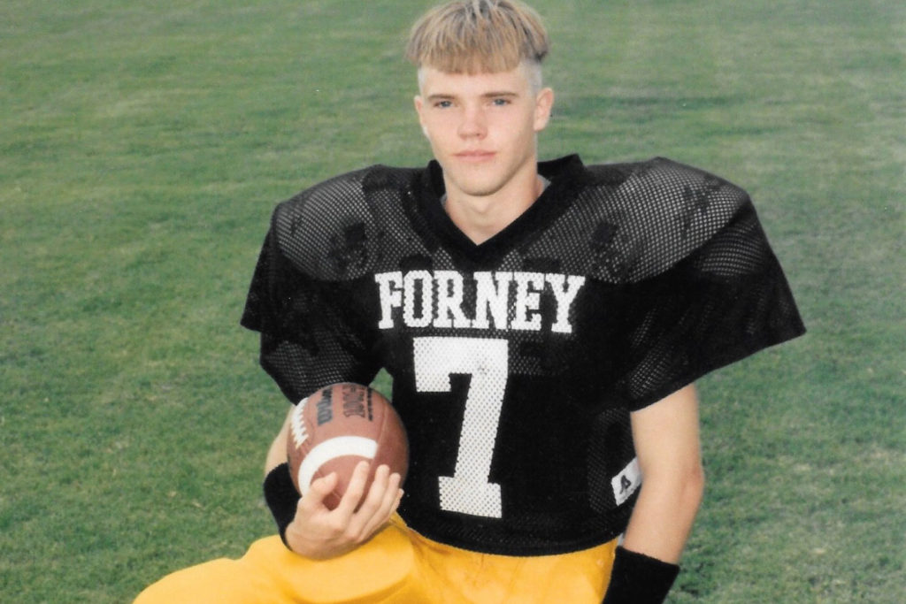 Lightning And Loss On A North Texas High School Football Field D