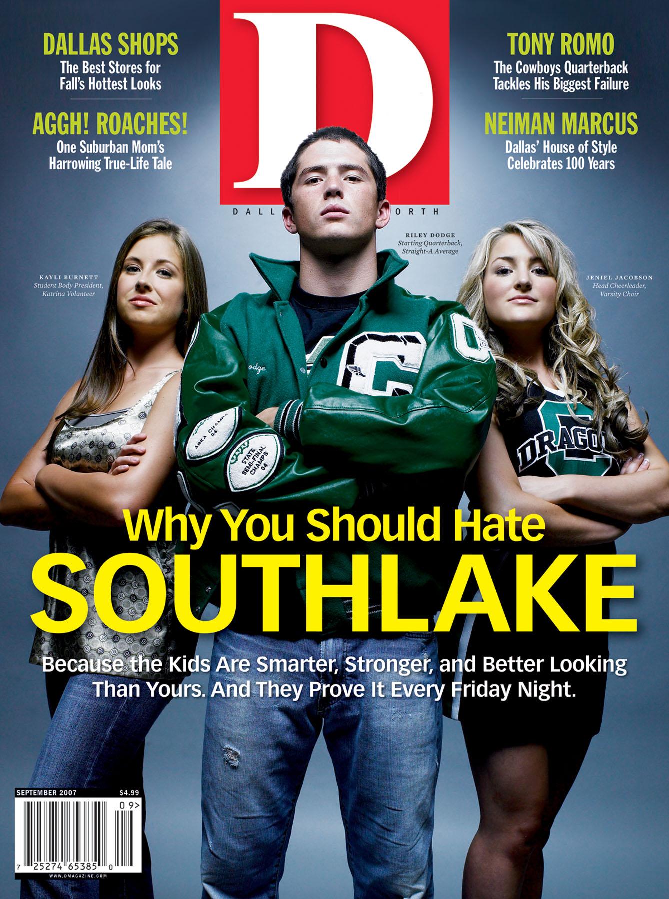 September 2007 cover