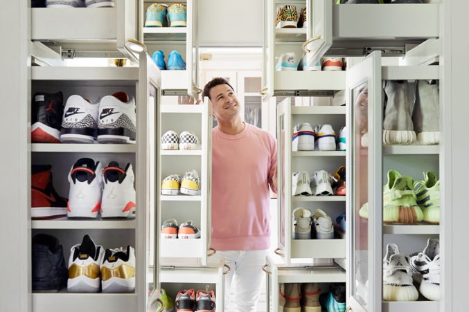 Architect And Family Friend Christy Blumenfeld Designed This Custom Closet  To House Nicku0027s Massive Collection Of Sneakers.